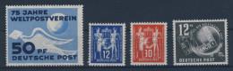 DDR Michel No. 242 - 245 ** postfrisch / Jahrgang 1949 komplett