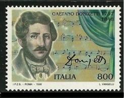 ITALIA 1998 - GAETANO DONIZATTI - YVERTNº 2289 - 1946-.. République