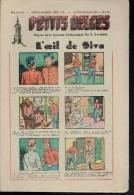 Hebdo.  PETITS BELGES.    N°19     16 Septembre 1945.   (BD-L´oeil De Siva) - Kranten