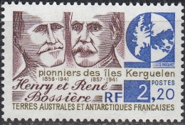 TAAF 1989 Yvert 147 Neuf ** Cote (2015) 1.40 Euro Henri Et René Bossière - Terres Australes Et Antarctiques Françaises (TAAF)