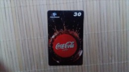 Phonecard Coca-Cola Brasil only 50.000 made 2 scans Rare