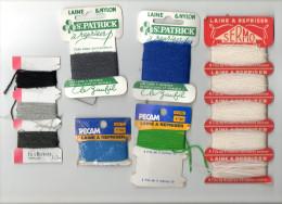 SAINT PATRICK  LAINE A REPRISER  PECAM STOPFGARN SERMO  ( Mercerie Couture Broderie Laine) - Wool