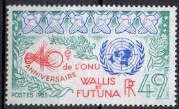 Wallis Et Futuna - 1985 - Yvert N° 332 ** - Unused Stamps