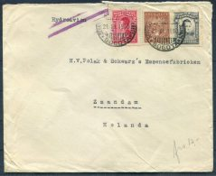 1930 Colombia Bogota Airmail Cover - Zaandam, Netherlands - Colombia