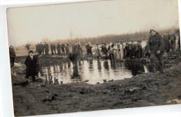 Hamme Overstroming 1928-29 Fotokaart - Hamme