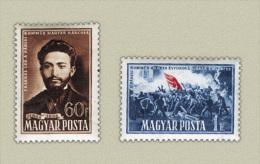 HUNGARY 1951 EVENTS Anniversary Of The PARIS COMMUNE - Fine Set MNH - Ungarn