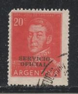 Argentina 1955. Scott #O94 (U) José De San Martin - Argentine