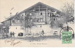 CHALETS VALAISANS - ANIMEE - DOS UNIQUE - 18.04.1904 - TTB - VS Valais