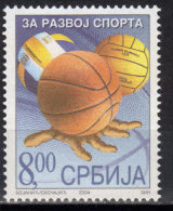 Yugoslavia,For Sport Development 2004.,MNH - 1992-2003 Federal Republic Of Yugoslavia