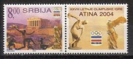 Yugoslavia,For SOG-Athens '04 2004.,vg-r,MNH - 1992-2003 Federal Republic Of Yugoslavia