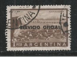 Argentina 1959. Scott #O98 (U) Cattle Ranch (Ganaderia) - Argentine