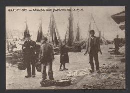 DF / 30 GARD / LE GRAU-DU-ROI / MARCHÉ AUX POISSONS SUR LE QUAI - Le Grau-du-Roi