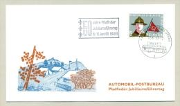 Schweiz - 1963 -  50 Years Scouting On Cover Automobil Postbureau - Jamboree - Schweiz