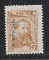 Argentina 1962 Scott #O112 (MNH) Jose Henrnandez - Argentine