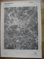 GRAND PHOTO VUE AERIENNE 66 Cm X 48 Cm De 1981 WELKENRAEDT WELKENRAEDT - Cartes Topographiques