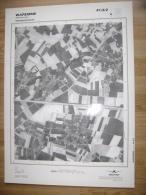 GRAND PHOTO VUE AERIENNE 66 Cm X 48 Cm De 1979  WAREMME 41/3/2 - Topographische Karten