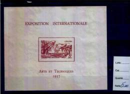 1937 - PARIS - EXPOSITION ARTS ET TECHNIQUES - ININI - Inini (1932-1947)