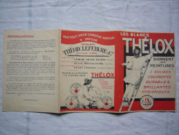 Pub 3 Volets Les Blancs Thélox Peintures Théodore Lefebvre à Lille - Publicités