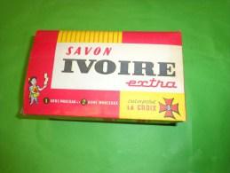Decoupage Boite Vide Savon Ivoire-locomotive C.C.7107  A Monter Suivant Pointille---- - Publicité