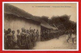AFRIQUE - GABON --  N' GOUNIE - SAMBA -- Caravane Libre  Ashango - Gabon