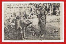 AFRIQUE -- KENYA --  La Toeletta Ai Bambini Con Olio Di Ricino - Kenya