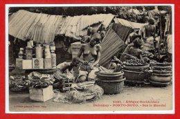 AFRIQUE -- DAHOMEY --  PORTO NOVO - Sur Le Marché - Dahomey