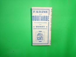 Boite De Moutarde Veterinaire Du BERRY  (non Ouverte). - Publicité