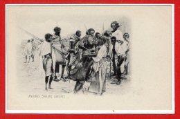 AFRIQUE -- SOMALIE --  Familles Somalis Campées - Somalia
