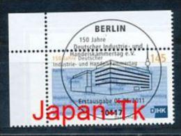 GERMANY Mi.Nr. 2865  Deutscher Industrie- Und Handelskammertag- ESST Berlin - Eckrand Oben Links - Used - Gebraucht