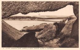 "04758 ""VICTOR HARBOUR  FROM UMBRELLA ROCK - GRANITE ISLAND SOUTH AUSTRALIA - AUSTRALIA"" CART. POST. ORIG.  NON SPEDITA. - Victor Harbor"
