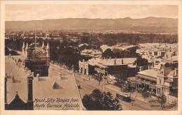 "04761 ""MOUNT LOFTY RANGES FROM NORTH TERRACE ADELAIDE - S. AUSTR. - AUSTRALIA"" TRAMWAY. CART. POST. ORIG.  NON SPEDITA. - Adelaide"