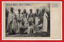 AFRIQUE -- ETTHIOPIE --  Colonia Grifrea - Africa Italiana - Gruppo Di Donne Abissine - Ethiopia