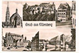 L25b53 - Nurenberg - Nürnberg - Carte Multi Vues - - Nürnberg