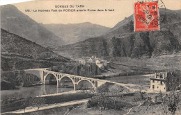 LE ROZIER  -  Le Nouveau Pont Du Rozier Avec Le Rozier Dans Le Fond - Francia