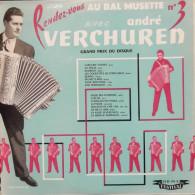 André Verchuren 33t. LP *rendez-vous Au Bal Musette N° 3* - Instrumental