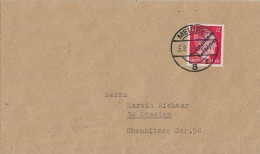 Lokalausgabe Meissen Brief EF Minr.34 Meissen 3.8.45 Gel. Nach Dresden - Gemeinschaftsausgaben
