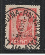 Argentina 1962. Scott #O118 (U) Jose De San Martin - Argentine