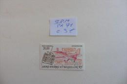 S.P.M  : Poste Aérienne  N° 71 Neuf - Airmail