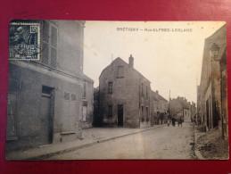 CARTE POSTALE BRETIGNY SUR ORGE RUE ALFRED LEBLANC - Bretigny Sur Orge
