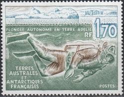 TAAF 1989 Yvert 146 Neuf ** Cote (2015) 1.10 Euro Plongeur Sous Les Glaces - Terres Australes Et Antarctiques Françaises (TAAF)
