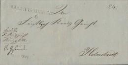 Brief L1 Koenigslutter Von 1819 Gel. Nach Helmstaedt - Deutschland