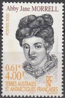 TAAF 2000 Yvert 285 Neuf ** Cote (2015) 1.90 Euro Abby Jane Morrell - Neufs
