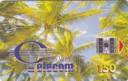 Cape Verde,CPV -17, Palm Trees - Coqueiros II, 2 Scans. - Cape Verde