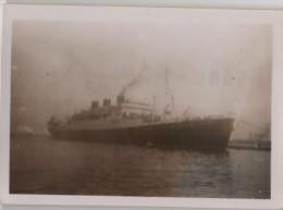 Photo Originale Marine Le CHAMPOLLION à Alger 1947 - Boats