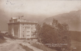 Suisse Vaud Leysin Clinique De Miremont Et Le Chamossaire Zwitserland Switzerland - VD Waadt