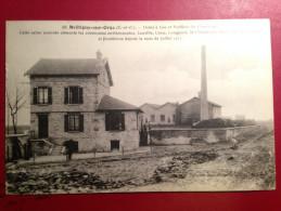 CARTE POSTALE BRETIGNY SUR ORGE  USINE A GAZ - Bretigny Sur Orge