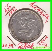 ALEMANIA   MONEDA  PLATA S/C 10 DM  OLYMPIADE  MUNICH  1972 - [10] Conmemorativas
