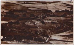 Old Sarum Castle Aerial View - Angleterre