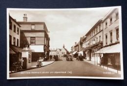 Bury St. Edmunds, Butter Market, Valentine's RP (Real Photographic) Postcard 223123.J.V., unused