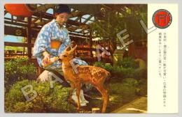 Buena Park (Etats-Unis) - Le Village Japonais Et Deer Park (JS) - Animaux & Faune